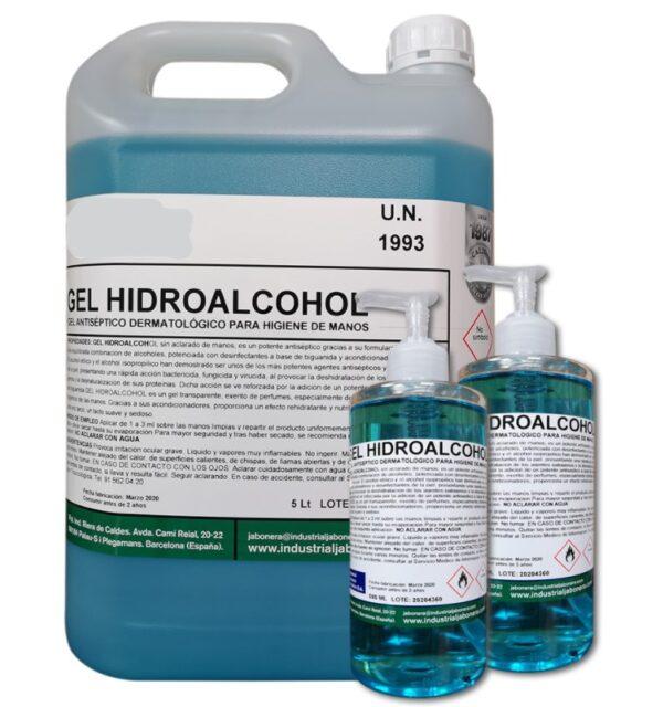 gel hidroalcoholico
