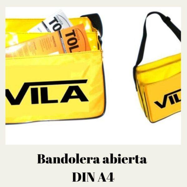 Bandolera abierta dina4 especial reparto