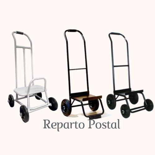 Carro Reparto Postal, carretilla reparto, carretilla reparto postal, repartir, reparto, buzoneo, poming,