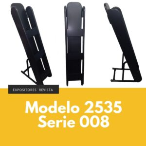 Expositor revista, expositor para negocio, expositor tienda, expositor revistas, modelo 2535 Serie 008