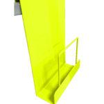 Expositor revista para colgar Serie 001-amarillo