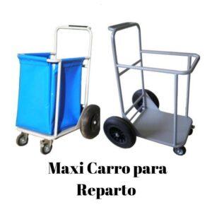 Maxi carro reparto, carro grande, carro traslado, carro cubeta