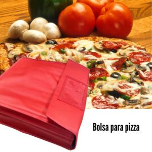 bolsa pizza isotérmica, bolsa para pizza, bolsa pizzas.