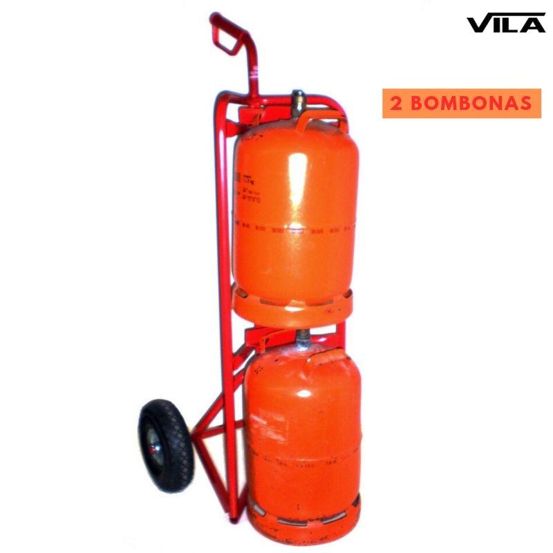 carro transporte dos bombonas de butano