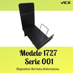 Expositor revista, expositor para negocio, expositor tienda, expositor revistas, Expositor revista sobremesa Modelo 1727 Serie 001