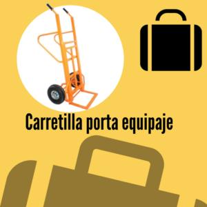 carretillas vila para equipajes doble pala
