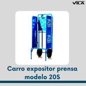 Carro expositor prensa modelo 20S