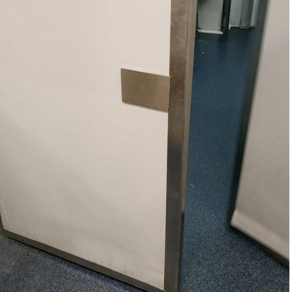 protector para puertas inoxidable