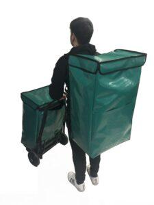 bolsa isotermica y mochila isotermica para reparto última milla