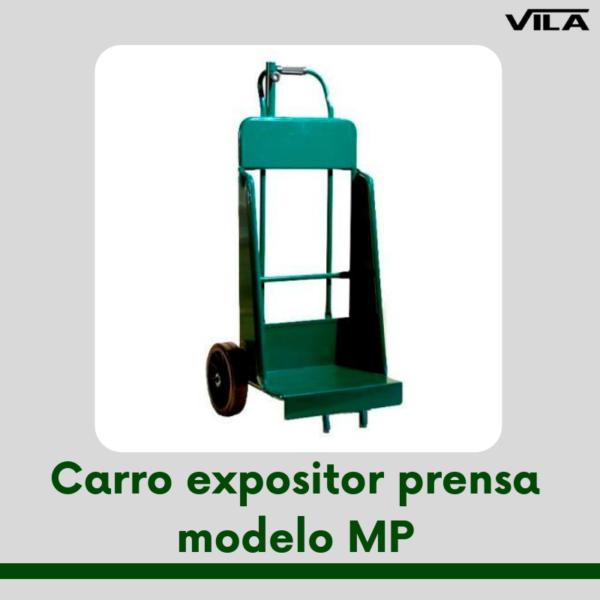 Carro expositor prensa modelo MP