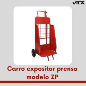 Carro expositor prensa modelo ZP