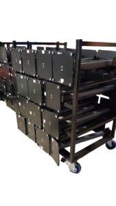 Catenarias - carro catenarias para eventos - carro porta catenarias-