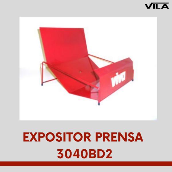 Expositor bandeja para prensa 3040bd2