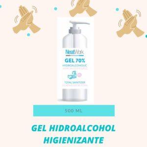 Gel hidroalcohol higienizante 500ml