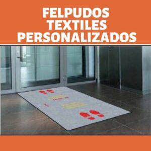 Felpudos textiles personalizados-