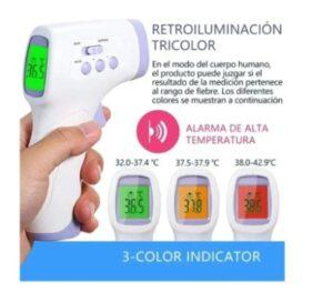 Termometro infrarrojo sin contacto certificado YNA-800--