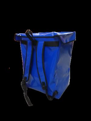 bolsa mochila azul mobility ultima milla