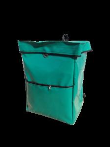 bolsa mochila verde ultima milla