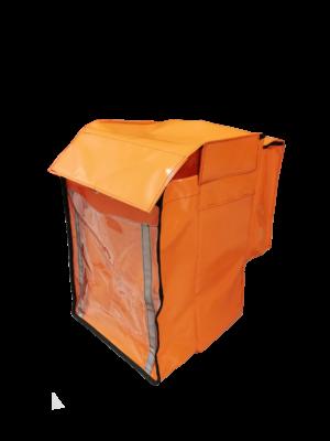 bolsa multibolsillo naranja